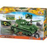 Конструктор COBI Четыре танкиста и собака, 530 деталей