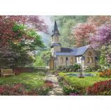 Пазл Eurographics Цветущий сад. Доминик Дэвисон, 1000 элементов