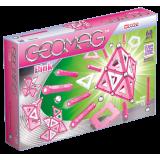 Geomag Panels розовый 68 деталей | Магнитный конструктор Геомаг