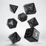 Набор кубиков Bloodsucker Black & Silver