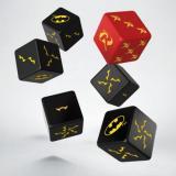 Набор кубиков Batman Miniature Game - D6 Batman Dice Set