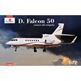 AMO 72307 Самолет Dassault Falcon 50 (версия с законцовкой крыла)