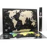 Скретч карта мира My Map Black edition mini