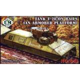 UM 641 Танк Т-28 на рельсах (бронеплатформа