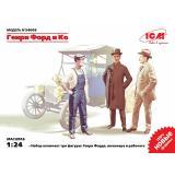 Генри Форд и Ко (3 фигуры) (ICM 24003)