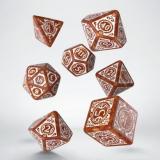 Набор кубиков Steampunk Clockwork caramel/white