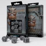 Набор кубиков Dwarven Gray & black Dice Set