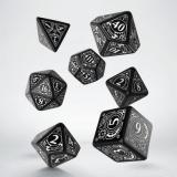 Набор кубиков Steampunk Black & white Dice Set