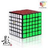 QiYi X-Man 6x6 Shadow M black | Магнитный кубик 6х6