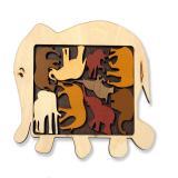 Constantin puzzle Elephant parade | Парад слонов