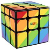 Smart Cube Rainbow black | Радужный кубик