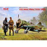 Пилоты ВВС РККА 1939-1942 (ICM 32102)