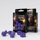 Набор кубиков Classic Runic Purple & Green Dice Set