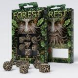 Набор кубиков Forest 3D Beige & black Dice Set