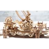 Трехмерная механическая головоломка-конструктор«Манипулятор на рельсах» (Серия «Механический город») (UG-024)