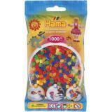 Термомозаика HAMA Набор цветных бусин, 1.000 шт, 6 неоновых цветов, MIDI 5+