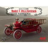Американский пожарный автомобиль Model T 1914 г. (ICM 24004)