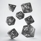 Набор кубиков Classic RPG Smoky & white Dice Set