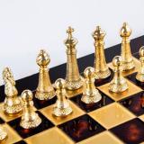 Шахматы классические S33RED Manopoulos, 44х44 см