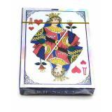 Карты игральные с пластиковым покрытием (36 карт) (9х6,5х1,5 см)