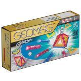 Geomag Color GLITTER 22 детали | Магнитный конструктор Геомаг