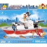 Конструктор COBI Спасательный катер' , 250 деталей