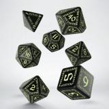 Набор кубиков Runic Black & glow-in-the-dark Dice Set