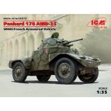 Французский бронеавтомобиль ІІ МВ Panhard 178 AMD-35 (ICM 35373)