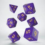 Набор кубиков Classic Runic Purple & yellow Dice Set