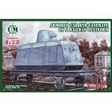 UM 667 Armored Car DTR-Casemate on a Railway Platform
