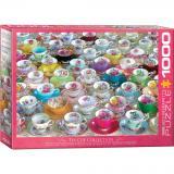 Пазл Eurographics Коллекция чайных чашек 1000 элементов