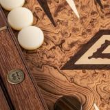 Нарды Manopoulos BJJ1, орех, дуб, пластик, коричневый перламутр, 48х30 см