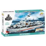 Конструктор COBI World Of Warships Эсминец Блыскавица, 680 деталей
