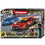 Автотрек Carrera GO!!! Гонка на треке, длина трассы 6.2м