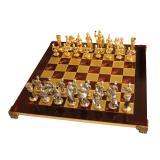 """Шахматы S11RED 44х44см Manopoulos, """"Война"""" красные"""