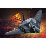 Сборная модель-копия Revell набор Истребитель F-117 «Козодой» уровень 3 масштаб 1:72