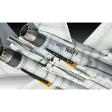 Сборная модель-копия Revell набор Истребитель F-14D «Томкэт» уровень 3 масштаб 1:100