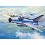 Сборная модель-копия Revell набор Истребитель MiG-21 F-13 Fishbed уровень 4 масштаб 1:72