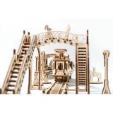Трехмерная механическая головоломка-конструктор «Трамвайная линия» (UG-023)
