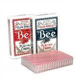 Карты картонные Bee (красный, синий)