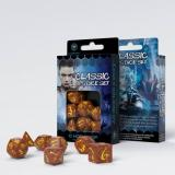 Набор кубиков Classic RPG Caramel & yellow Dice Set