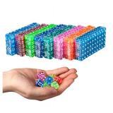 Кубик D6 с точками прозрачный (цвет в ассортименте)