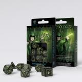 Набор кубиков Elvish Black & glow-in-the-dark Dice Set