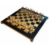 Шахматы S5BLU 36х36см, Manopoulos,