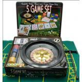 Покерный набор + рулетка (5 в 1)(33х29х7 см)(112011), арт.23080