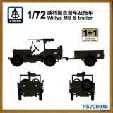 SMOD PS720152 Американский армейский автомобиль M151A2 (2 модели в наборе)