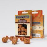 Набор кубиков Starfinder Dawn of Flame Dice Set