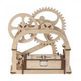 Трехмерная механическая головоломка-конструктор «Механическая шкатулка» (UG-002)