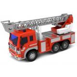 Машинка инерционная 1:16 Wenyi Пожарная со звуком и светом