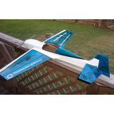 Самолет на радиоуправлении Precision Aerobatics Katana Mini ARF (PA-KM-BLUE) CBGames
